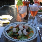 Lobster Salad with Avocado and Tomato Vinaigrette