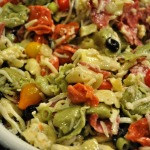 Memorial Day Celebration – Tortellini Pasta Salad and Chubby Hubby Brownies