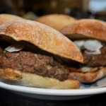 French Fridays with Dorie: Café Salle Pleyel Burger
