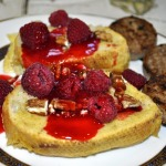 Baked French Toast with Raspberry Sauce ~ Baked Sunday Mornings