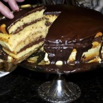 "Boston Cream Pie Cake ~ aka ""The Cake That Mocked Me"" ~ Baked Sunday Mornings"