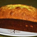 Lemon Loaf Cake ~ Tuesdays With Dorie ~ with Limoncello Blueberry Sauce