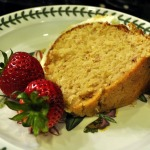 Strawberry Lemonade Picnic Cake