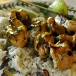 Coconut-Lime Chicken Kabobs ~ The Café Sucré Farine