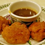 Bananas Foster Fritters ~ Baked Sunday Mornings