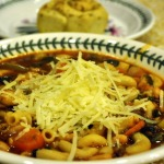 Minestrone with Garlic Rolls
