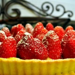 Lemon Curd Tart with Fresh Strawberries