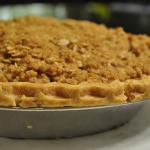 All Recipes: Dutch Apple Pie with Oatmeal Streusel