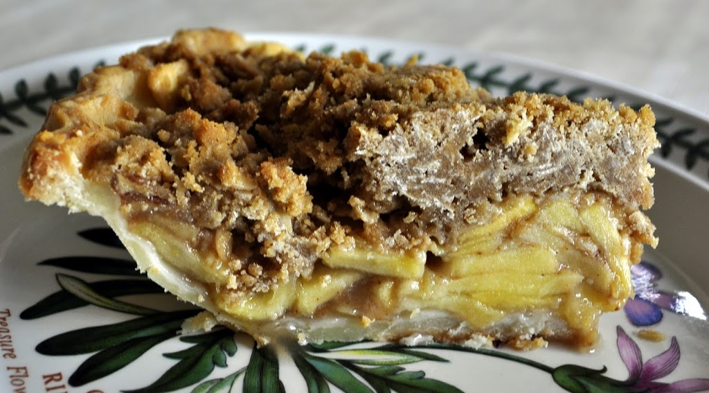 All Recipes: Dutch Apple Pie with Oatmeal Streusel ...