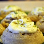 Baked Sunday Mornings:  Addictive Lime Tarragon Cookies with White Chocolate Lime Topping