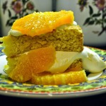 Baked Sunday Mornings: Citrus Olive Oil Shortcake