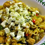 Greek-style Chicken Pasta