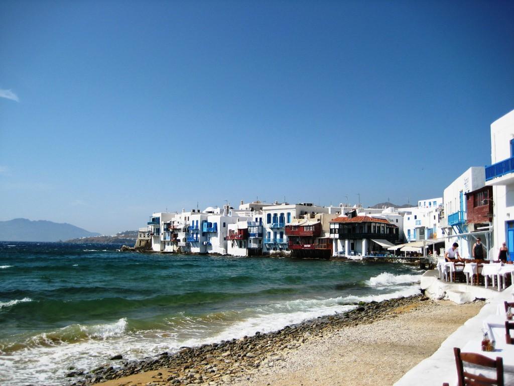 The lovely island of Mykonos, Greece