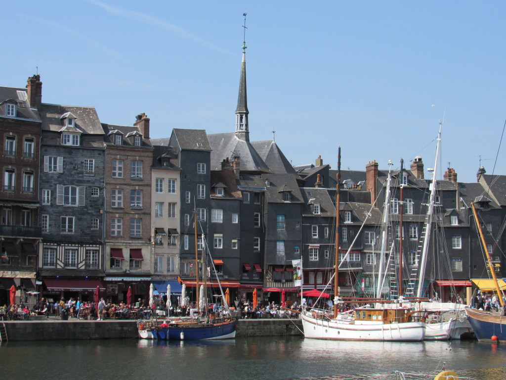The intriguing port town of Honfleur, France